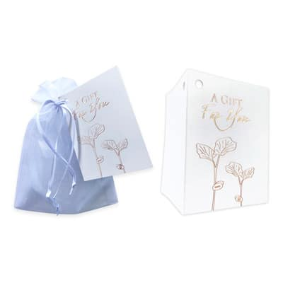 Add Gift Wrap (Organza Bag + Card to match collection)