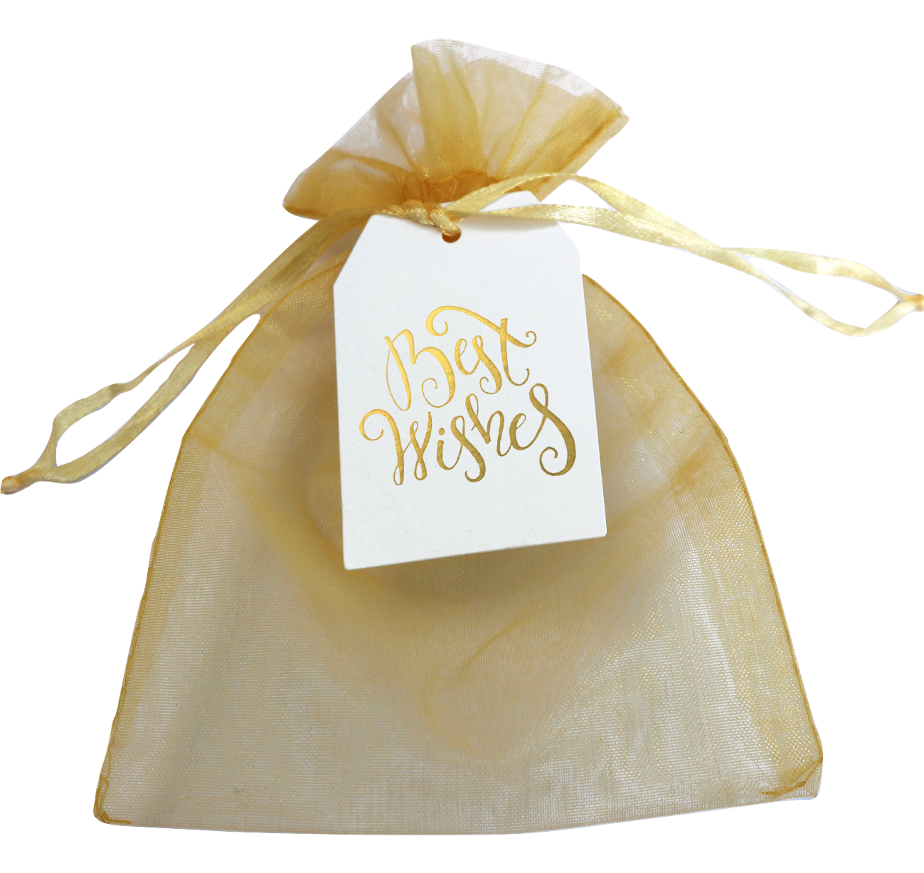 Organza Gift Pouch + Card